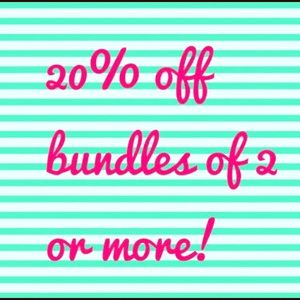 🌺Bundle 2 or more items for 20% off!